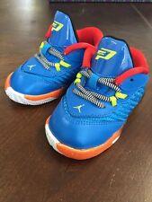 Kids Toddlers Boys Blue Baby Jordan's Size 4C New
