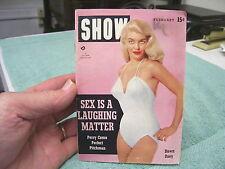 Pocket Sized SHOW MAGAZINE FEB. 1955, DAWN ONEY, MARILYN MONROE, PERRY COMO