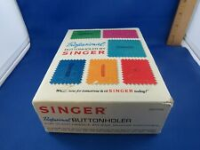 Professional Buttonholer by Singer for Slant-Needle Zig-Zag Sewing Machines