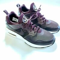 Nike Mens Air Max Prime Running Shoes Purple Mesh Lace Up Low Top 12 M