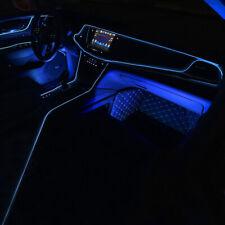 2M Blue LED Car Atmosphere Wire Strip Light Lamp Interior Decor Car Accessories