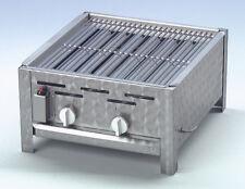 Gasgrill ECO-TECH für Profis und Gastronomie, 2-flammig, 7,3 kW