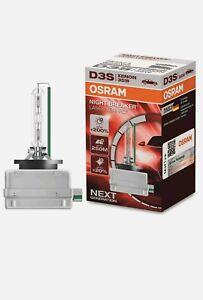 2x OSRAM D3S 66340XNL NIGHT BREAKER LASER Xenarc NEXT Generation Xenon Brenner