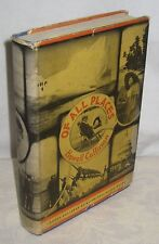 OF ALL PLACES 1935 1ST DJ SIGNED HOWELL CULLINAN ANTIQUE BOOK 10/15