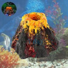 Volcano Shape Air Bubble Stone Oxygen Pump Aquarium Tank Fish Ornament Decor New