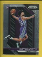 Marvin Bagley RC 2018-19 Panini Prizm Rookie Card # 181 Sacramento Kings NBA