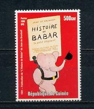 (AAAA 007) Guinea 1998 MNH 1931 Babar the Elephant children's book Fairy tale
