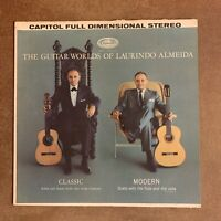 The Guitar Worlds of Laurindo Almeida VG+ 1st LP Capitol SP 8546 USA 1962