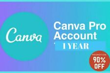 CANVA PRO 🔥 1 YEAR  🔥 12 Months 🔥 Team Account