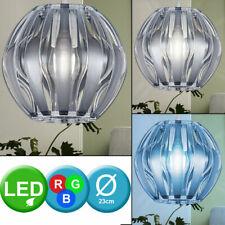 LED Techo Lámpara Colgante Salón Habitación RGB Control Remoto Luz Regulable Luz