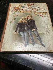 Antique Royal Children of English History w/ Illustrations