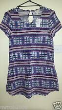 Jay Jays Ladies size 8 Aztec Print Tunic Top
