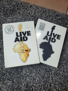 LIVE AID, ONE CONCERT TWO CONTINENTS, DVD 3 DISCS ONLY MISSING ONE DISC OUT OF 4