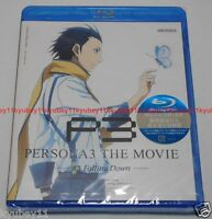 New Persona 3 The Movie #3 Falling Down Blu-ray Japan English ANSX-11109