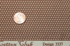 """COTTON CLUB"" REPRODUCTION COTTON QUILT FABRIC FOR MARCUS BY THE YARD 3337-0147"