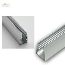 1M LED aluminium profilé de bordure verre pour éclairage chant en profil LEDs