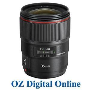 NEW Canon EF 35mm f/1.4L II USM 35 mm F1.4 L 2 for 6D 5D MK3 1 Yr Au Wty