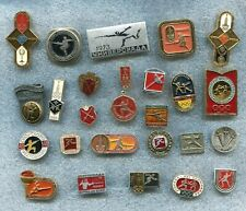 Russia USSR Fencing 25 Pin Badges Medal