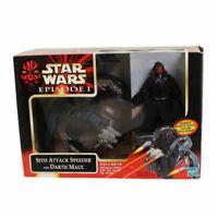 Star Wars Action Figure Vehicle Set -Episode 1 -SITH ATTACK SPEEDER w/DARTH MAUL