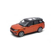 Welly 24059 Range Rover Sport Arancione Metallizzato Scala 1:24 Modellino Auto