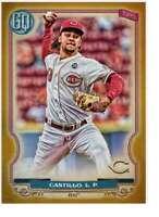 Luis Castillo 2020 Topps Gypsy Queen 5x7 Gold #249 /10 Reds