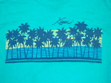 Vintage Kawai Hawaii Islands Beach Surf  skate tourist beach punk rock T Shirt M