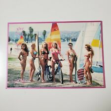 Vintage California Girl Postcard Fun Hot 90's Era Uncirculated with minor wear