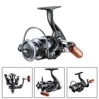 QIDA 12BB Metal Spinning Fishing Reel 5.2:1 Line Spool Fish Wheel Tackle Tools