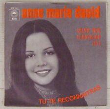 Anne-Marie David 45 Tours Eurovision 1973  Pressage Yougoslave !