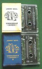 Jimmy Nail Crocodile Shoes I & II inc Angel + Cassette Tape x 2 - TESTED