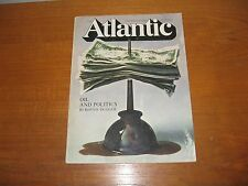 Atlantic September 1969 Oil & Politics, Haiti, Sissman, Robert Jay Lifton, Okai