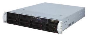 SUPERMICRO 2U X8STi-F 1xE5606 12GB DDR3 0xHDD