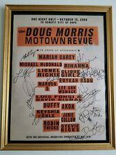 Stevie Nicks- signed event poster. Mariah Carey, Rihanna, Maroon 5...