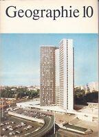 Geographie Klasse 10, Volk und Wissen, DDR Lehrbuch 1987, DDR-Propaganda