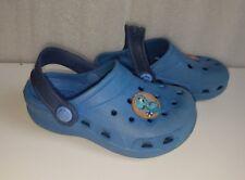 Bobbi Kids Blue Beach Clogs Mules Sandals Flip Flops Shoes Size Infant 5.5 / 22