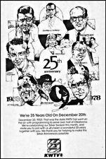 1978 KWTV Tv Ad Oklahoma City 25th Anniversary promo~channel 9 Oklahoma
