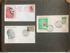 Comores LOT 3 Enveloppes 1er Jour FDC Cover