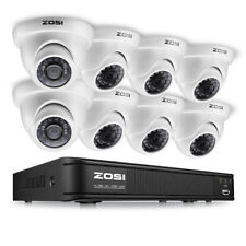 ZOSI 8CH 1080N TVI DVR 24 IR Leds CCTV Waterproof security camera outdoor System
