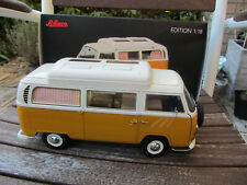 1:18 Schuco VW Volkswagen T2 Camper Camping Bus orange