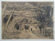 Franco Gentili - Disegno originale, opera originale firmata