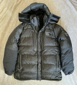 Mountain Hardwear Absolute Zero Down Parka Jacket Medium Black Insulated Puffy