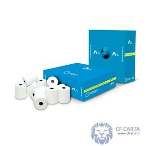 50 rotoli carta termica per registratori cassa 57X30x12 carta scontrini termica