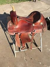 "Blue Ridge 16 "" Cutting Saddle"