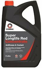 LONGLIFE 5L Red AntiFreeze Summer - Winter Coolant Concentrate 5 Litre GL12+