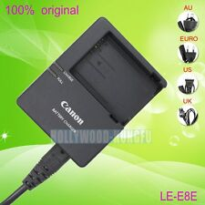 Genuine Original Canon LC-E8 LC-E8E Charger for LP-E8 Battery EOS 550D 600D 700D