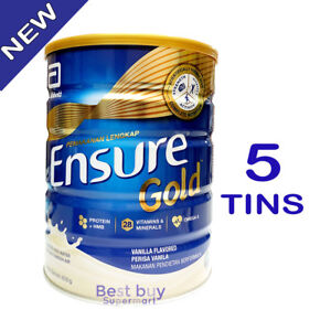 Ensure Gold Vanilla 850g X 5 Tins Complete Nutrition [FAST SHIPPING]