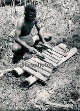 MOYEN-CONGO c. 1940 - Joueur de Balafon - PA41
