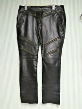 Vintage Leather Cult      36 x 39       Black Leather Pants         Biker/Gothic