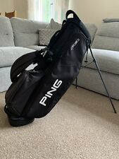 Ping 4 Series Golf Stand Bag - Black & White