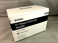 New SIGMA Contemporary 17-70mm f/2.8-4 DC Macro HSM Lens for SONY A Mount APS-C